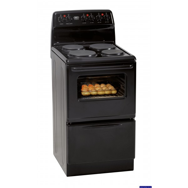 Defy DSS 506 4-Plate Electric Stove Black