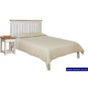Luckys, Discount Centre, Savings, Michael Bayside, Bed Double, 137cm, Rustic