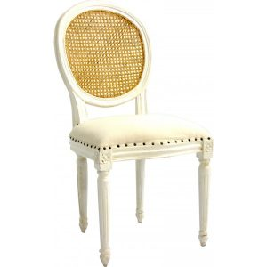 Dua White Chair NE-07