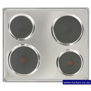 Defy Slimline Solid Hob - NCP Stainless Steel DHD 333