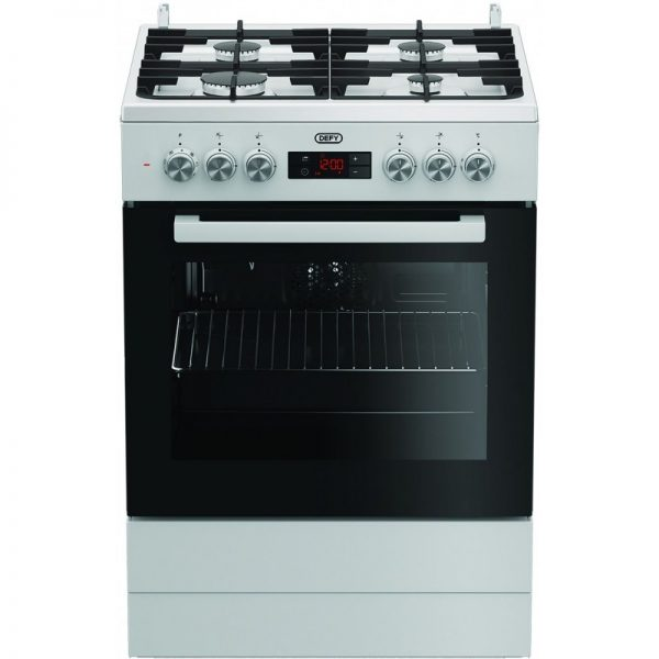 Defy DGS 182 4-Burner Gas/Electric Stove White
