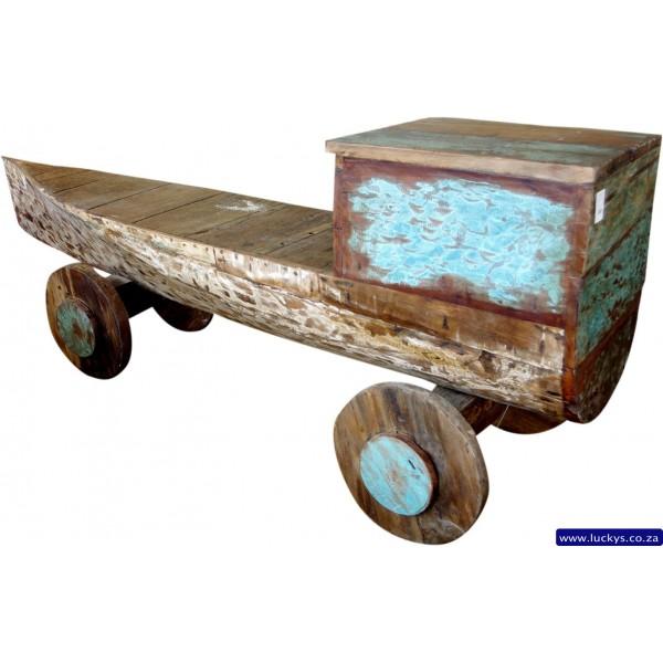Indo Boat Console Table