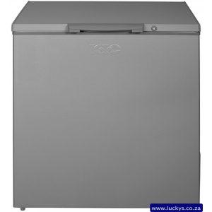 KIC KCG 210 ME 210L Chest Freezer Metallic