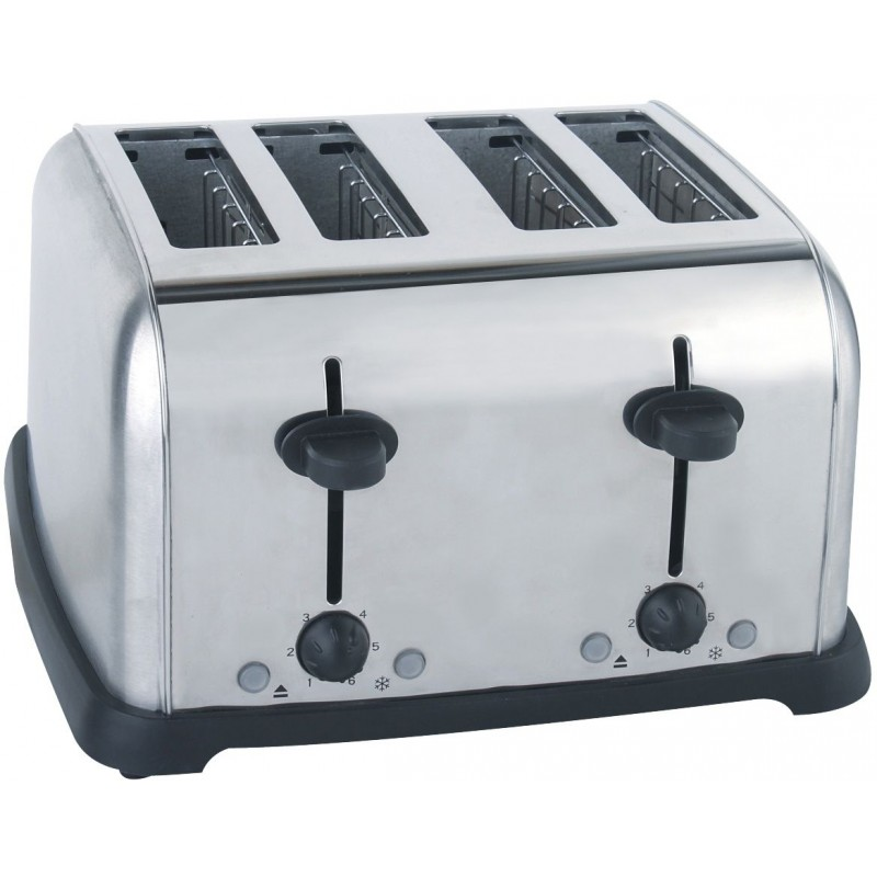 Sunbeam SCCT-400 4-Slice Toaster Stainless Steel