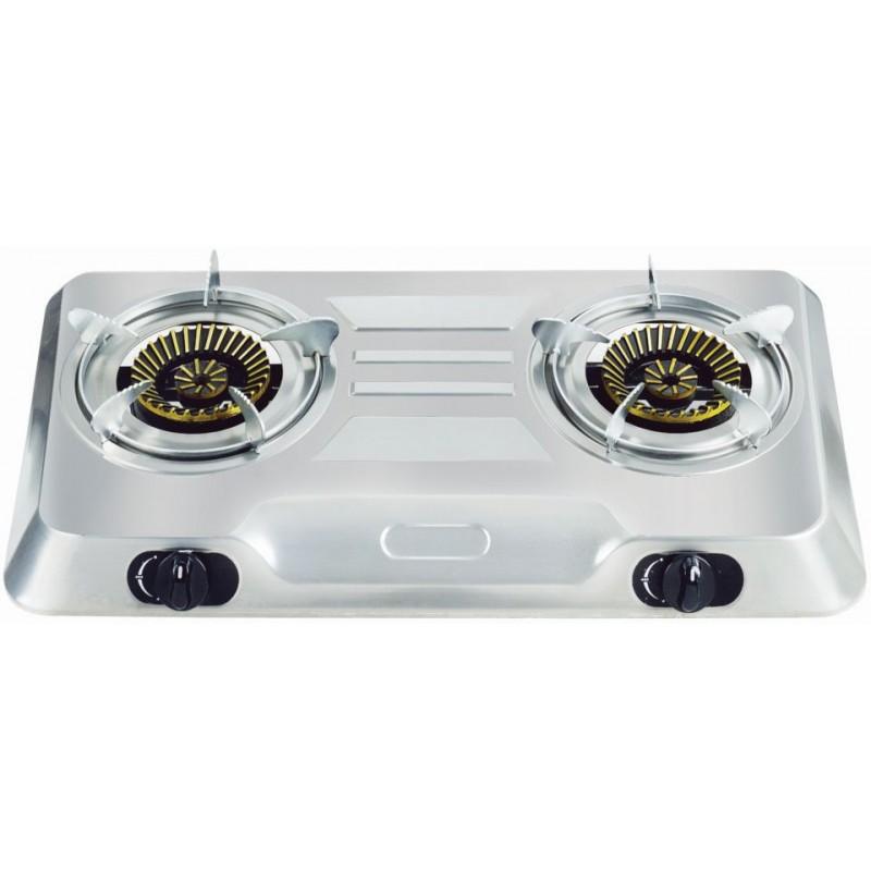 Totai 2 Burner Hotplate Full Stainless Steel