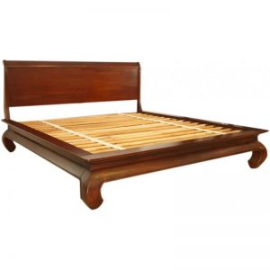 Out Opium Sleigh Bed 183cm King