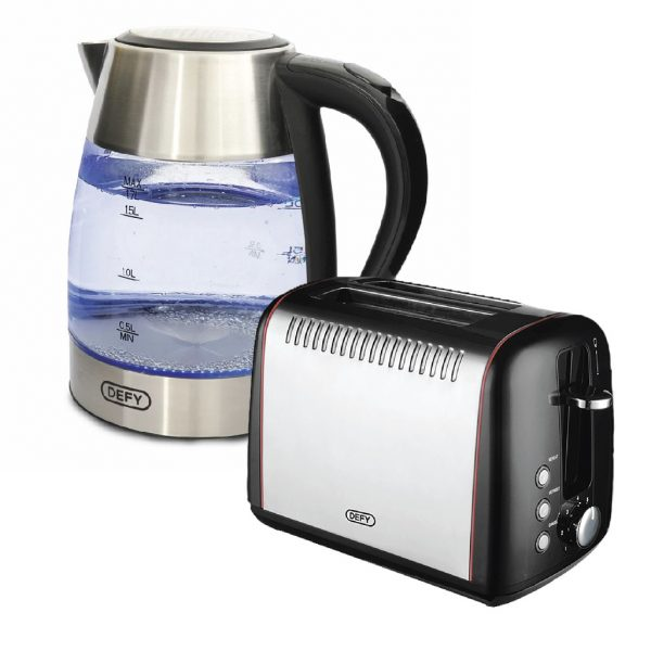 Defy Kettle and Toaster Combo