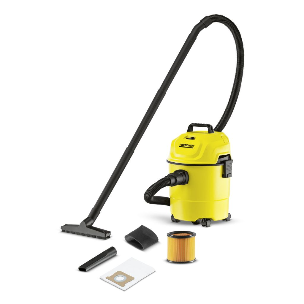 Karcher WD1 15L Wet & Dry Vacuum Cleaner