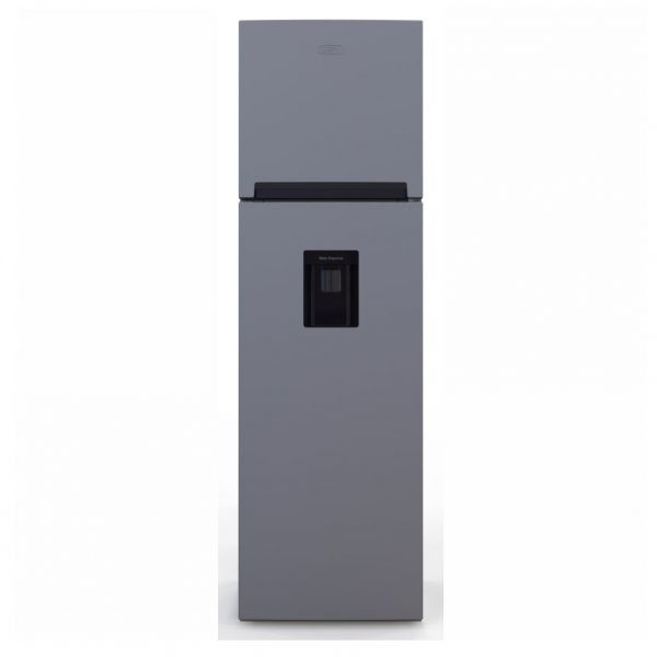 Defy DAD 246 D230 Combi Fridge Metallic