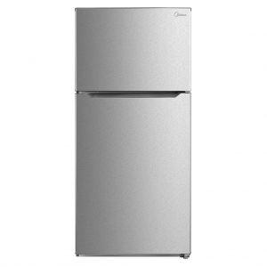 Midea HD-845FWEN 652L Combi Fridge Silver