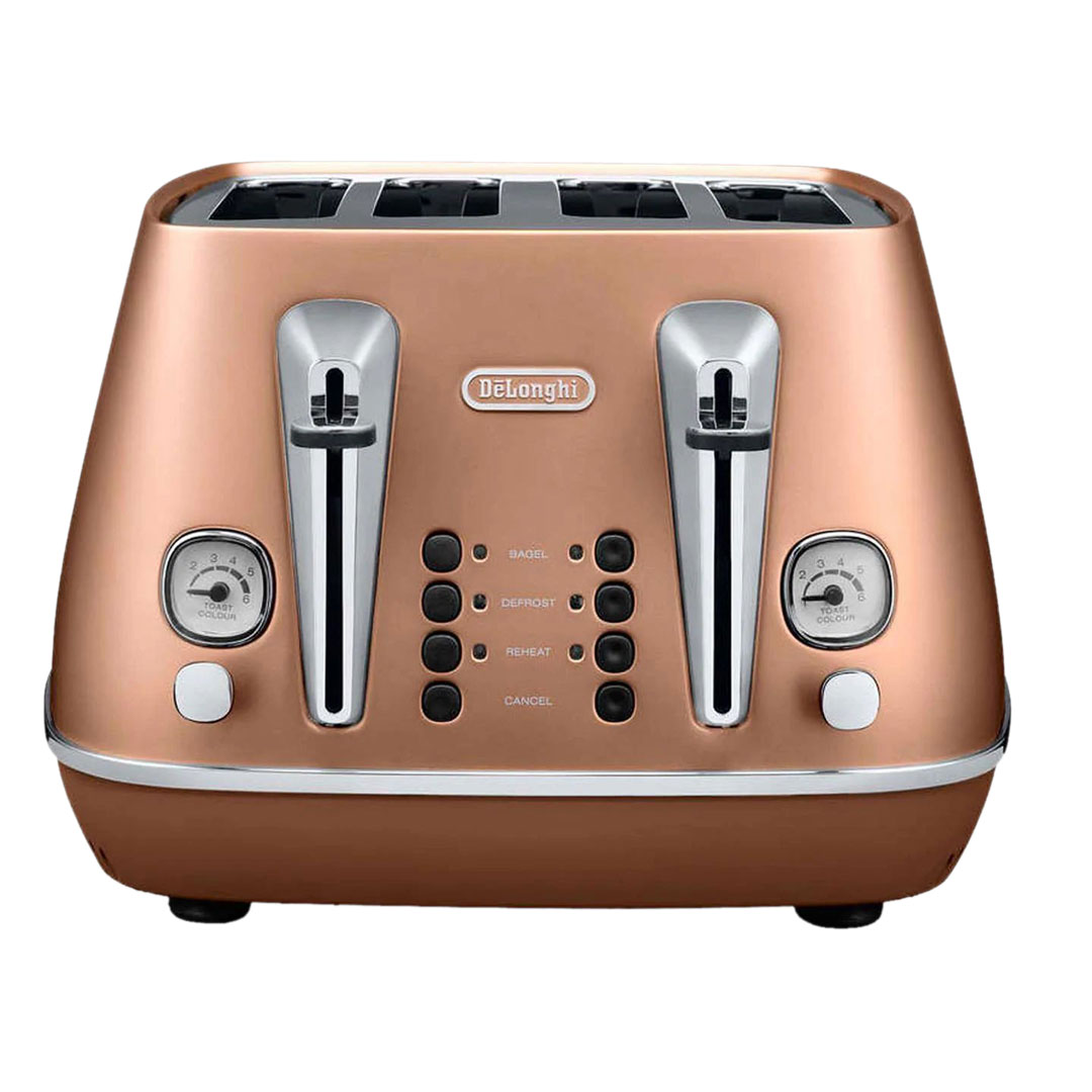 DeLonghi CTI 4003.CP Distinta 4-Slice Toaster