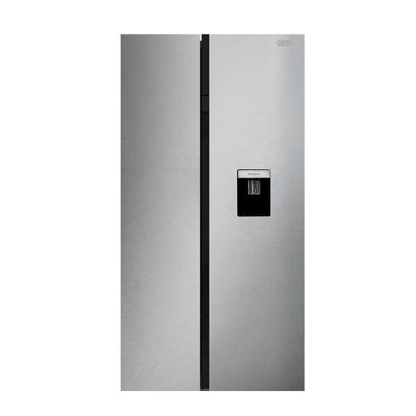 Defy DFF 447 F740 Side by Side Fridge Metallic