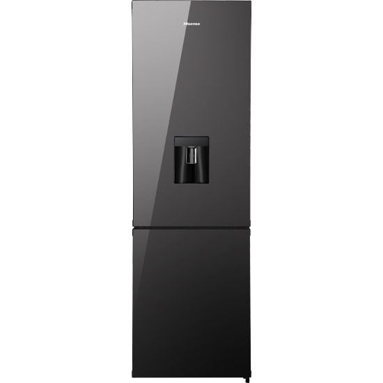 Hisense H360BMI-WD 269L Combi Fridge Black