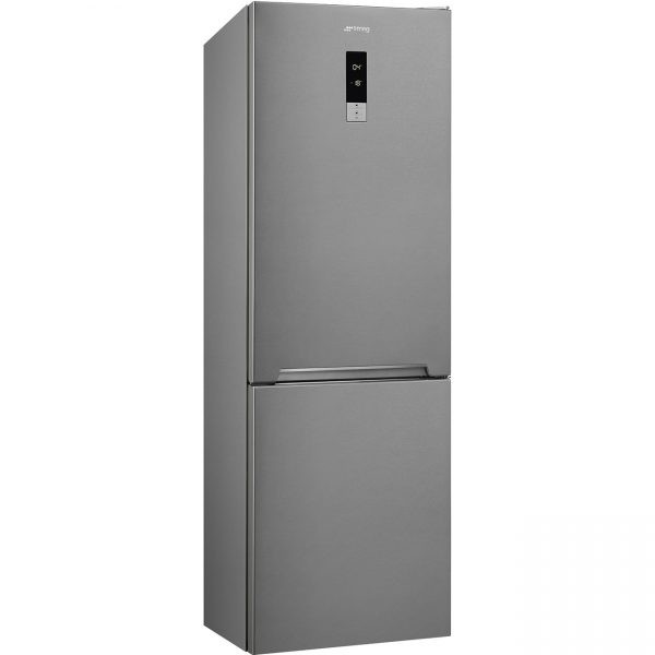 Smeg FC18EN4AX 341L Combi Fridge Stainless Steel