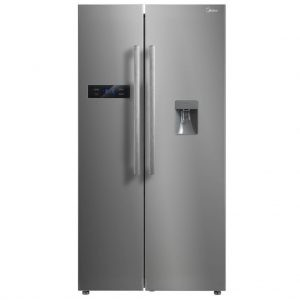 Midea HC-683FWEN 522L Side-By-Side Fridge