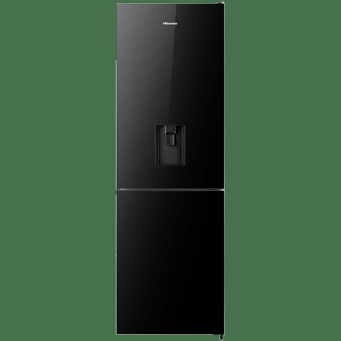Hisense H415BMI-WD 305L Combi Fridge Black Mirror