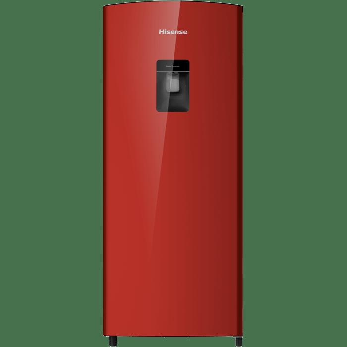 Hisense H230RRE-WD 185L Bar Fridge Red