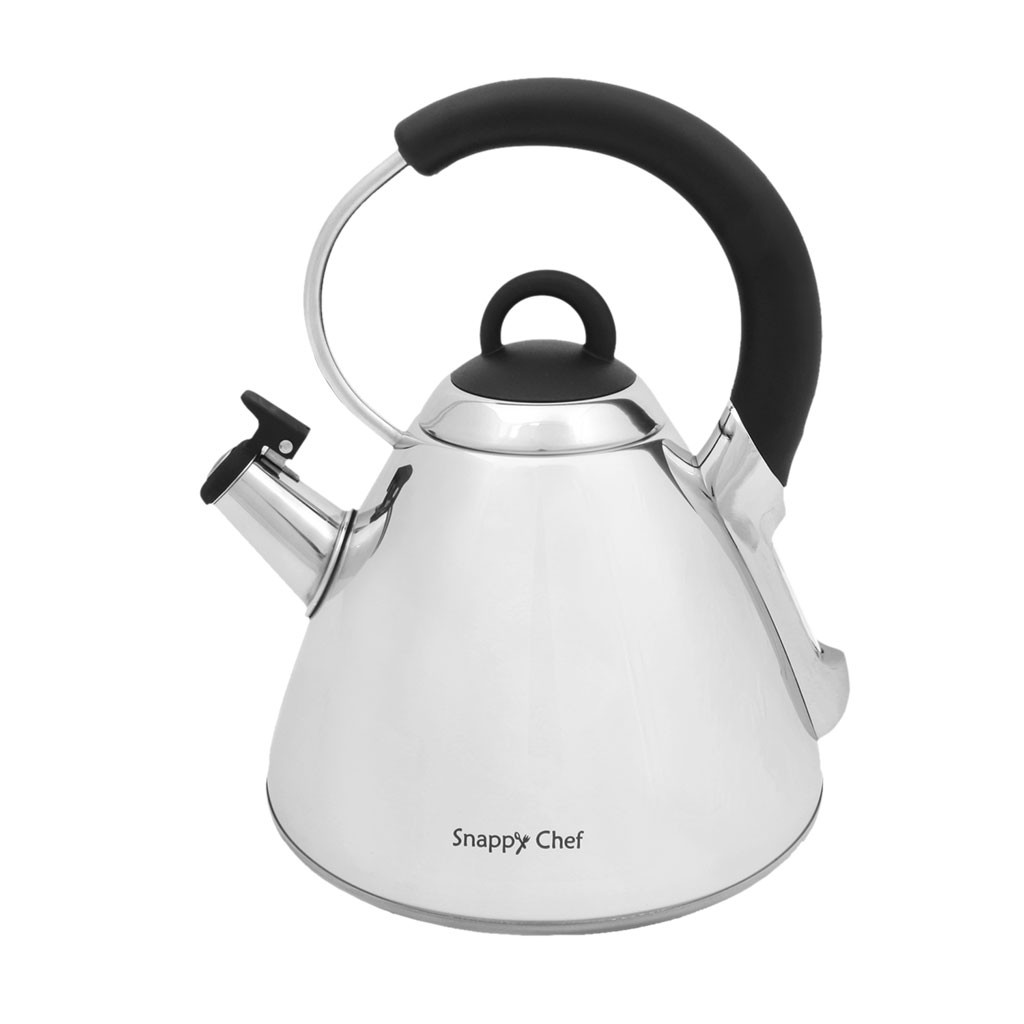 Snappy Chef KESI002 Whistling Kettle Silver